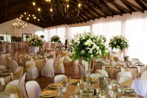 Wedding flowers and decorations